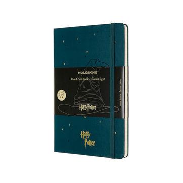 Moleskine - Harry Potter Book 1 - notatnik - Kamień Filozoficzny - wymiary: 13 x 21 cm; w linie
