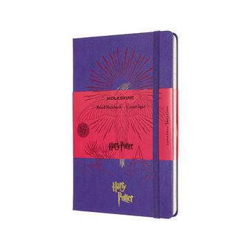 Moleskine - Harry Potter Book 5 - notatnik - Zakon Feniksa - wymiary: 13 x 21 cm; w linie