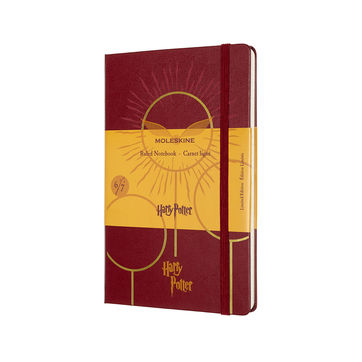 Moleskine - Harry Potter Book 6 - notatnik - Książę Półkrwi - wymiary: 13 x 21 cm; w linie