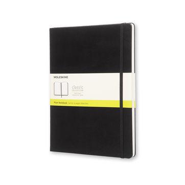 Moleskine - Classic - notatnik gładki - wymiary: 19 x 25 cm; twarda oprawa