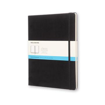 Moleskine - Classic - notatnik w kropki - wymiary: 19 x 25 cm; twarda oprawa