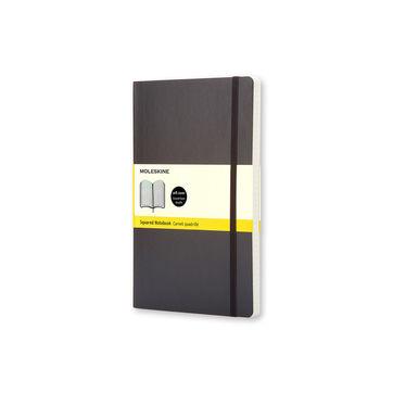 Moleskine - Classic - notatnik w kratkę - wymiary: 9 x 14 cm; miękka oprawa