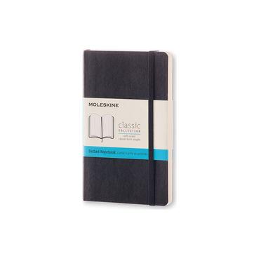 Moleskine - Classic - notatnik w kropki - wymiary: 9 x 14 cm; miękka oprawa