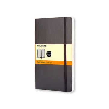 Moleskine - Classic - notatnik w linie - wymiary: 13 x 21 cm; miękka oprawa