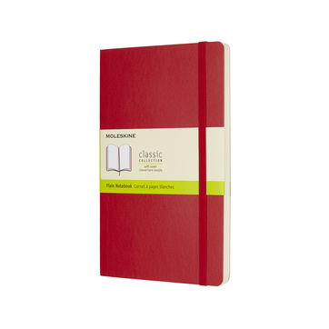 Moleskine - Classic - notatnik gładki - wymiary: 13 x 21 cm; miękka oprawa