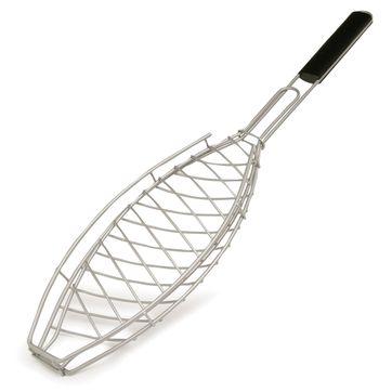 Sagaform - BBQ - zamykany ruszt do pieczenia ryby - umożliwia obracanie ryby w czasie pieczenia