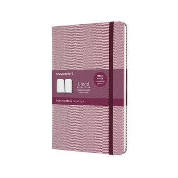 Moleskine - Blend - notatnik w linie - wymiary: 13 x 21 cm; twarda oprawa z tkaniny