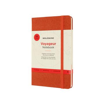 Moleskine - Voyageur - notatnik - podróże - wymiary: 11,5 x 18 cm; twarda oprawa z tkaniny