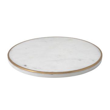 Villeroy & Boch - Christmas Decoration - marmurowy talerz do serwowania - średnica: 25 cm