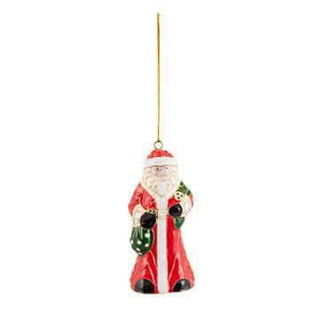 Villeroy & Boch - Winter Collage Accessoires - zawieszka - Święty Mikołaj - wysokość: 10 cm