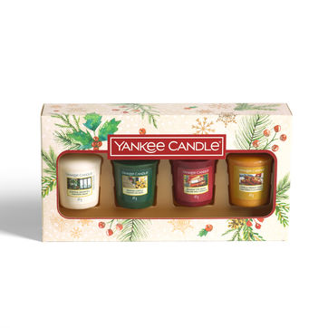 Yankee Candle - Magical Christmas Morning - zestaw prezentowy - 4 świece zapachowe - czas palenia: do 15 godzin