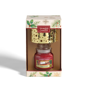 Yankee Candle - Magical Christmas Morning - zestaw prezentowy - świeca zapachowa z kloszem - czas palenia: do 30 godzin