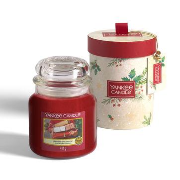 Yankee Candle - Magical Christmas Morning - świeca zapachowa w pudełku prezentowym - czas palenia: do 75 godzin