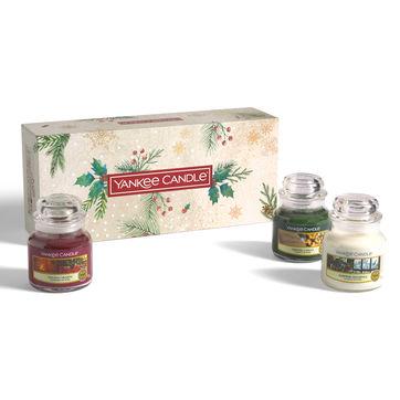 Yankee Candle - Magical Christmas Morning - zestaw prezentowy - 3 świece zapachowe - czas palenia: do 30 godzin