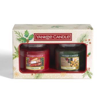 Yankee Candle - Magical Christmas Morning - zestaw prezentowy - 2 świece zapachowe - czas palenia: do 75 godzin