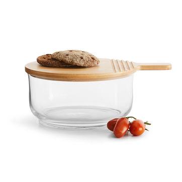 Sagaform - Nature - zestaw do serwowania - miska do sałaty i deska
