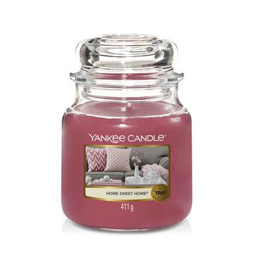 Yankee Candle - Home Sweet Home - świeca zapachowa - cynamon z cukrem waniliowym - czas palenia: do 75 godzin