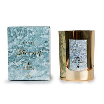Victorian - Blue Reef - świeca zapachowa - ananas i kwiat lotosu - czas palenia: do 45 godzin