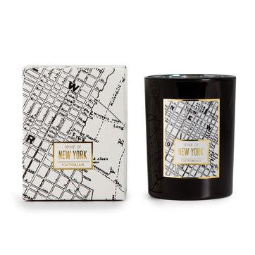 Victorian - New York - świeca zapachowa - cytryna i grejpfrut - czas palenia: do 45 godzin