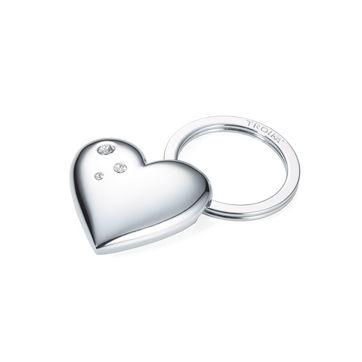 Troika - Girl's Best Friends - brelok - wymiary: 3,5 x 4 x 1 cm; ozdobiony kryształkami Swarovskiego