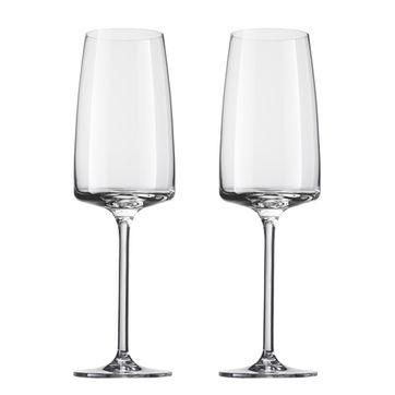 Schott Zwiesel - Sensa - 2 kieliszki do szampana - pojemność: 0,39 l; do lekkich i świeżych win musujących