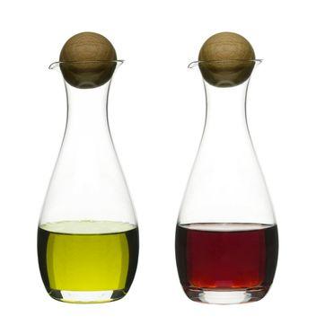 Sagaform - Nature - buteleczki na ocet i oliwę - pojemność: 0,3 l
