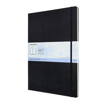 Moleskine - Watercolor Notebook - notatnik do akwareli - 60 stron; wymiary: 29,7 x 42 cm (A3)