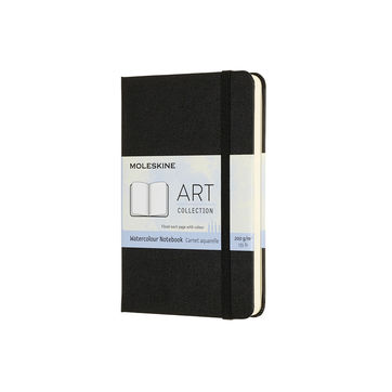 Moleskine - Watercolor Notebook - notatnik do akwareli - 60 stron; wymiary: 9 x 14 cm (Pocket)