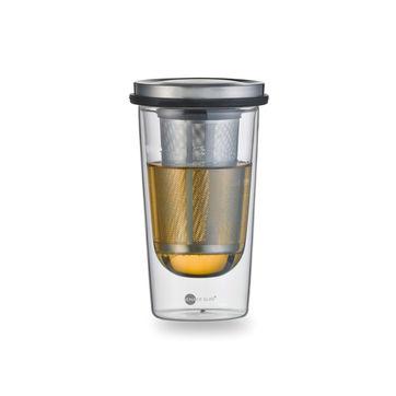 Jenaer Glas - Primo - szklanka z zaparzaczem - pojemność: 0,36 l