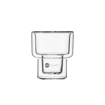 Jenaer Glas - Hot'n'Cool - 2 szklanki o podwójnych ściankach - pojemność: 0,11 l