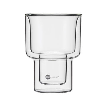 Jenaer Glas - Hot'n'Cool - 2 szklanki o podwójnych ściankach - pojemność: 0,4 l