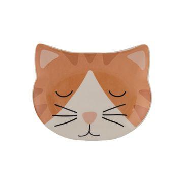 Mason Cash - Ginger - miska dla kota - wymiary: 16 x 13 cm