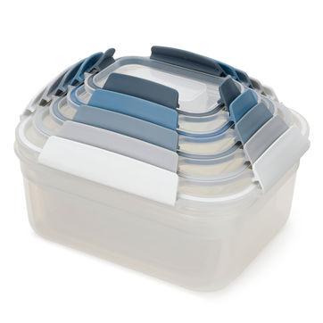 Joseph Joseph - Nest Lock - zestaw 5 pojemników na żywność - pojemności: 0,23 l; 0,54 l; 1,1 l; 1,85 l; 3,0 l