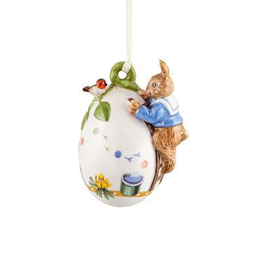 Villeroy & Boch - Annual Easter Edition 2021 - zawieszka jajko - wysokość: 8 cm