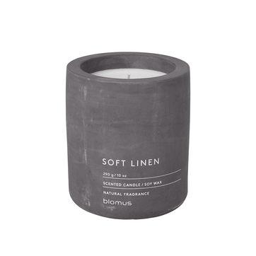 Blomus - Soft Linen - świece zapachowe - len w kwiatach