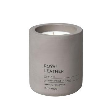 Blomus - Royal Leather - świece zapachowe - tytoń i zioła