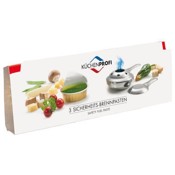 Küchenprofi - pasta do fondue - 3 sztuki