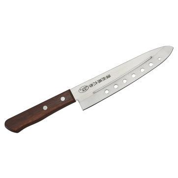 Satake - Tomoko Air Holes - nóż szefa kuchni z otworami - długość ostrza: 18 cm