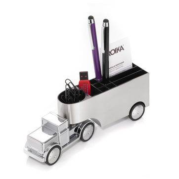 Troika - Office Trucker - pojemnik na akcesoria - z magnesem na spinacze