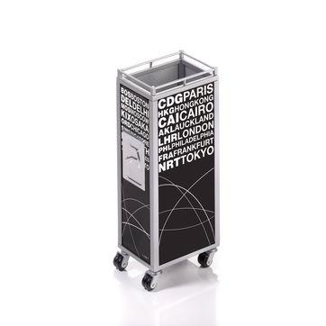 Troika - Mini Trolley - pojemnik na długopisy - wysokość: 12,5 cm