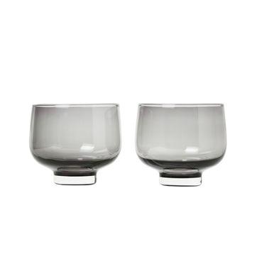 Blomus - Flow - 2 szklanki - pojemność: 0,22 l