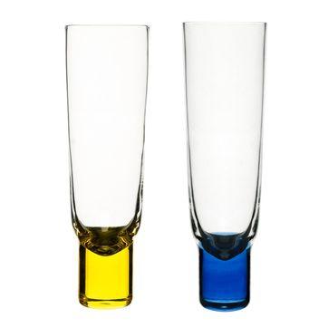 Sagaform - Club - 2 kieliszki do szampana - pojemność: 0,18 l