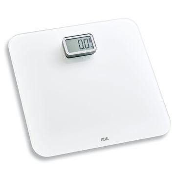 ADE - Kira - elektroniczna waga łazienkowa na dynamo - wymiary: 30 x 30 cm