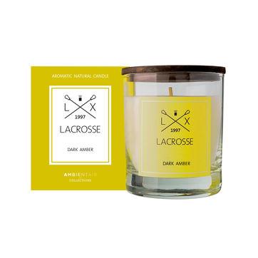 Lacrosse - świeca zapachowa - ambra - czas palenia: do 40 godzin