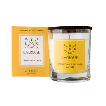 Lacrosse - świeca zapachowa - osmantus i bourbon - czas palenia: do 40 godzin