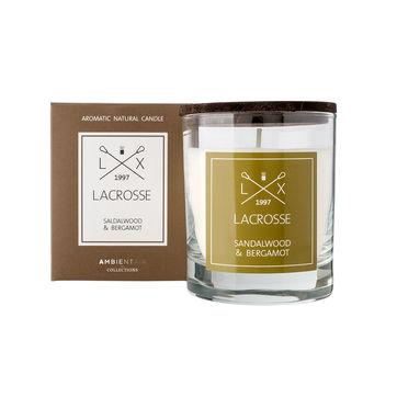 Lacrosse - świeca zapachowa - sandałowiec i bergamotka - czas palenia: do 40 godzin