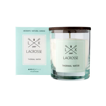 Lacrosse - świeca zapachowa - wody termalne - czas palenia: do 40 godzin