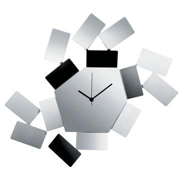 Alessi - La Stanza Dello Scirocco - zegar ścienny - wymiary: 46 x 33,5 cm