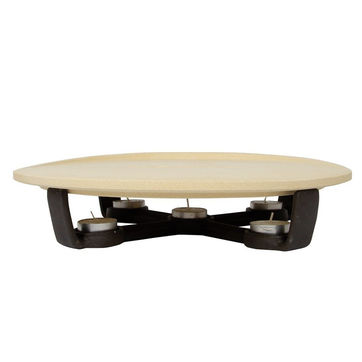Boska - Pizza Party Hot Stone - kamień do pizzy z podgrzewaczem - średnica: 33 cm