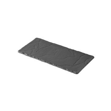 Revol - Basalt - talerz prostokątny - wymiary: 20 x 10 cm